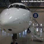 Morro de un CRJ-200