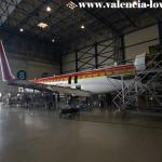 CRJ-900 en mantenimiento