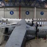 Vista del hangar