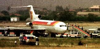 Secuestro avión en Manises